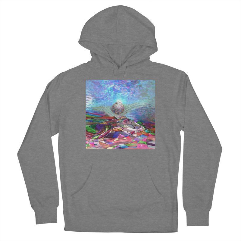 Icarus Rising Women's Pullover Hoody by Matthew Lacey-icarusismartdesigns