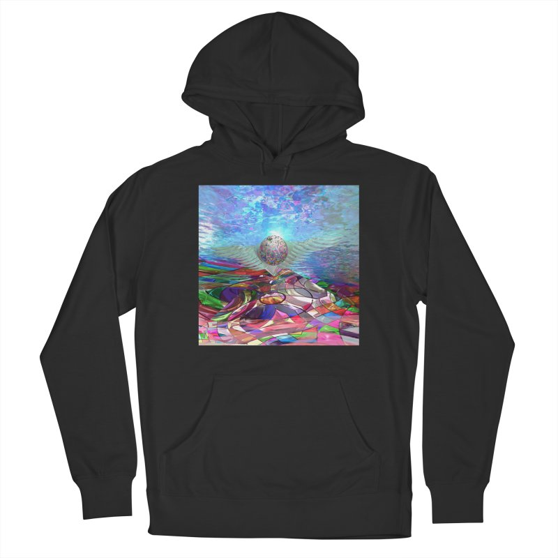 Icarus Rising Men's Pullover Hoody by Matthew Lacey-icarusismartdesigns