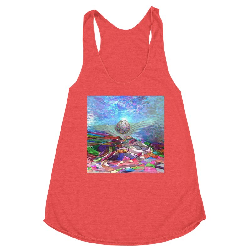 Icarus Rising Women's Tank by Matthew Lacey-icarusismartdesigns