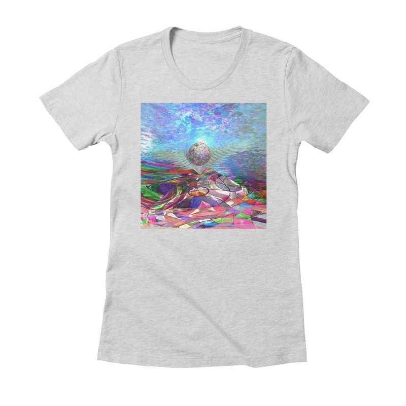 Icarus Rising Women's T-Shirt by Matthew Lacey-icarusismartdesigns