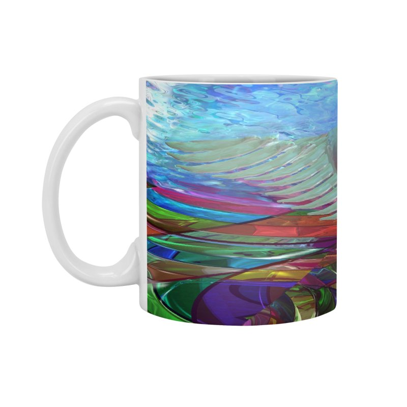 Icarus Rising Accessories Mug by Matthew Lacey-icarusismartdesigns