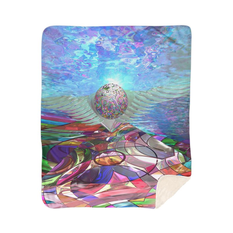 Icarus Rising Home Blanket by Matthew Lacey-icarusismartdesigns