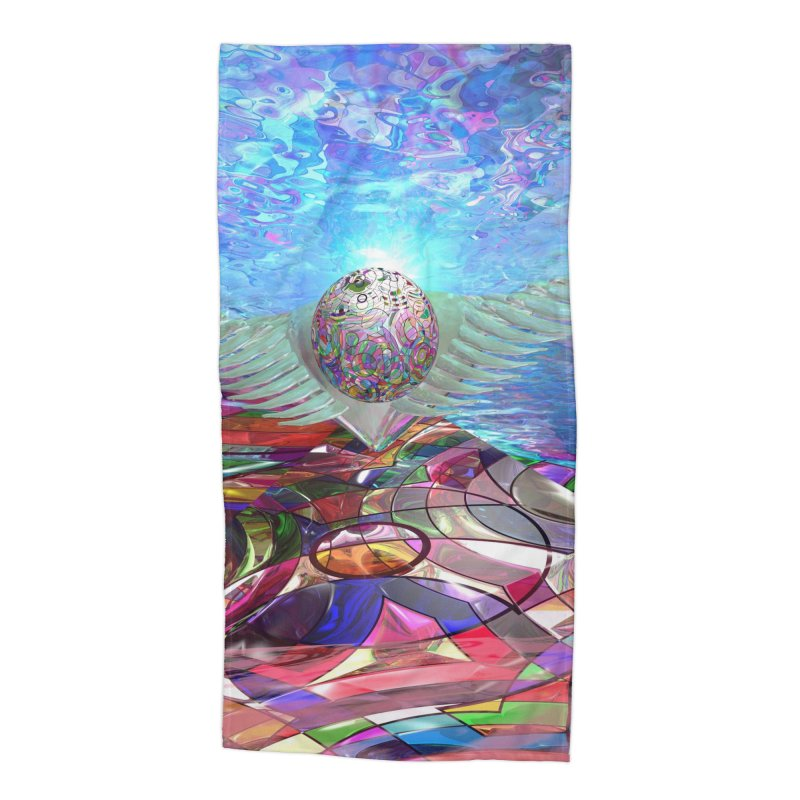 Icarus Rising Accessories Beach Towel by Matthew Lacey-icarusismartdesigns
