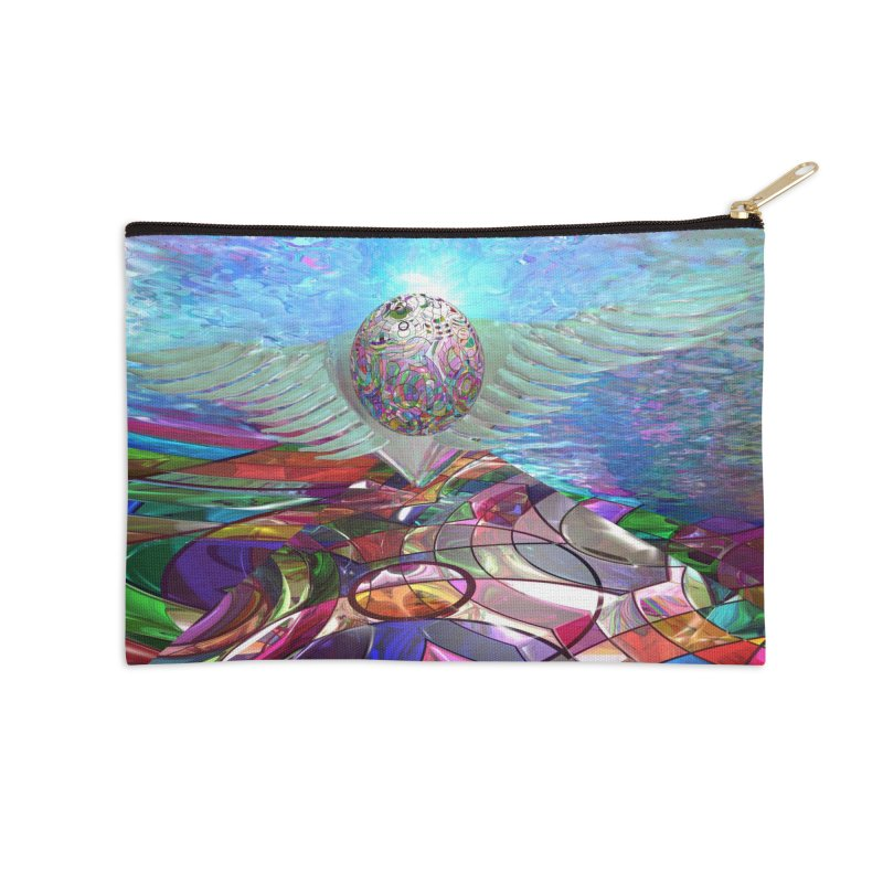 Icarus Rising Accessories Zip Pouch by Matthew Lacey-icarusismartdesigns