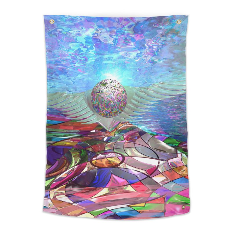 Icarus Rising Home Tapestry by Matthew Lacey-icarusismartdesigns