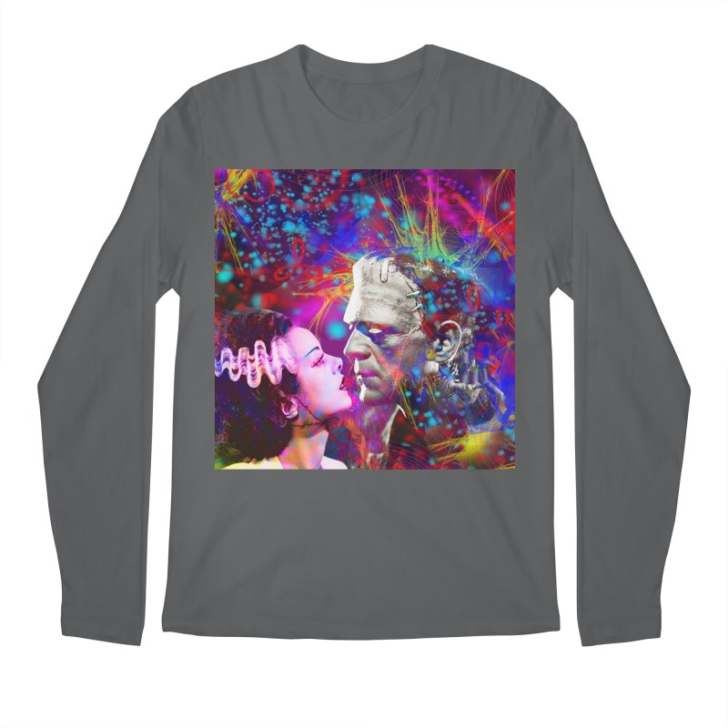 Frankenstein`s Bride Men's Longsleeve T-Shirt by Matthew Lacey-icarusismartdesigns