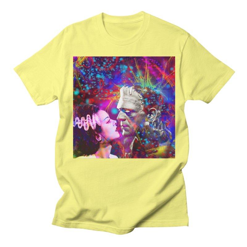 Frankenstein`s Bride Men's T-Shirt by Matthew Lacey-icarusismartdesigns