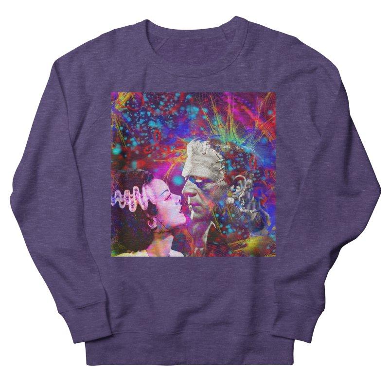 Frankenstein`s Bride Women's Sweatshirt by Matthew Lacey-icarusismartdesigns