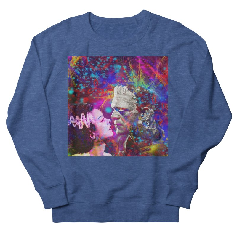 Frankenstein`s Bride Men's Sweatshirt by Matthew Lacey-icarusismartdesigns