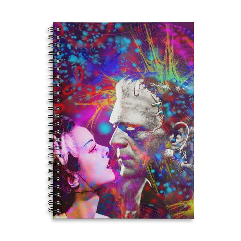 Frankenstein`s Bride Accessories Notebook by Matthew Lacey-icarusismartdesigns