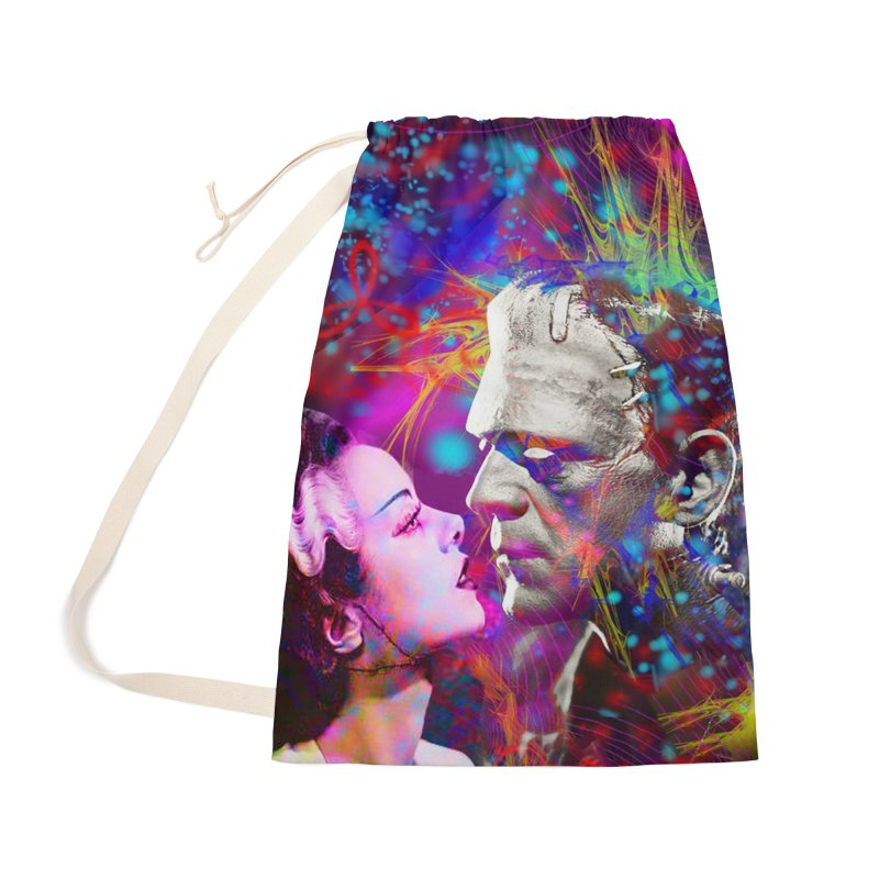Frankenstein`s Bride Accessories Bag by Matthew Lacey-icarusismartdesigns