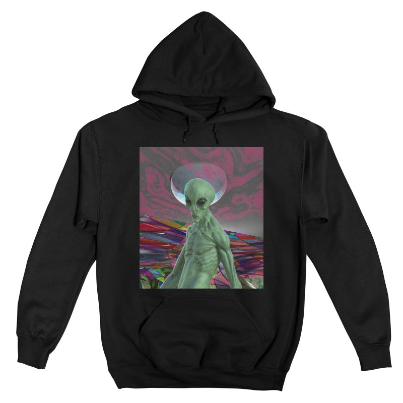 Alien Sunset Women's Pullover Hoody by Matthew Lacey-icarusismartdesigns