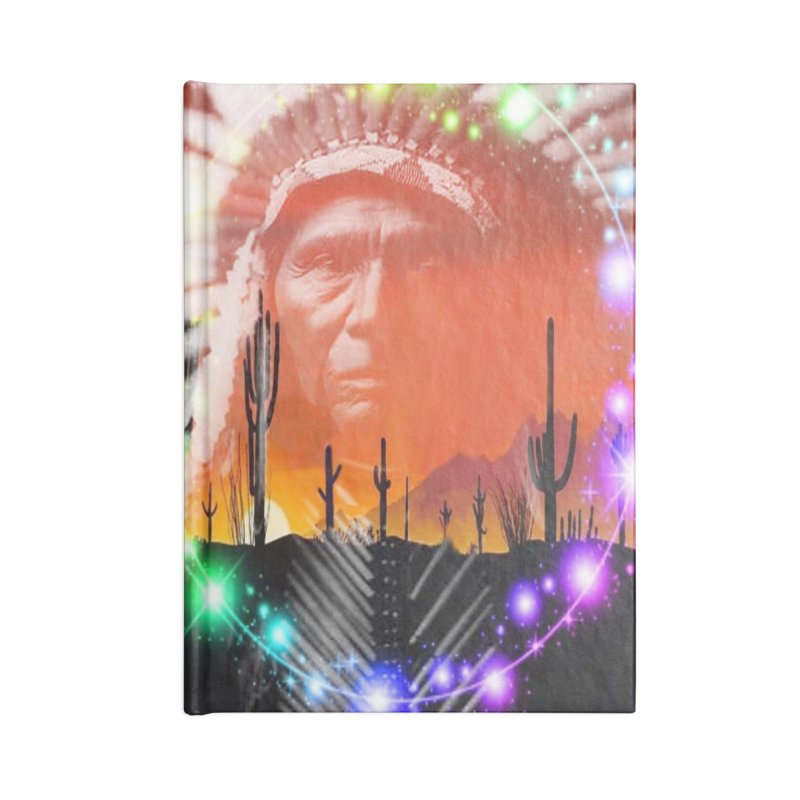 Ghost Dance Accessories Notebook by Matthew Lacey-icarusismartdesigns