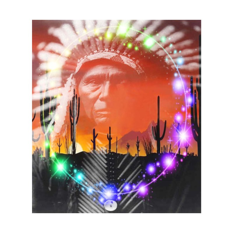 Ghost Dance Home Blanket by Matthew Lacey-icarusismartdesigns