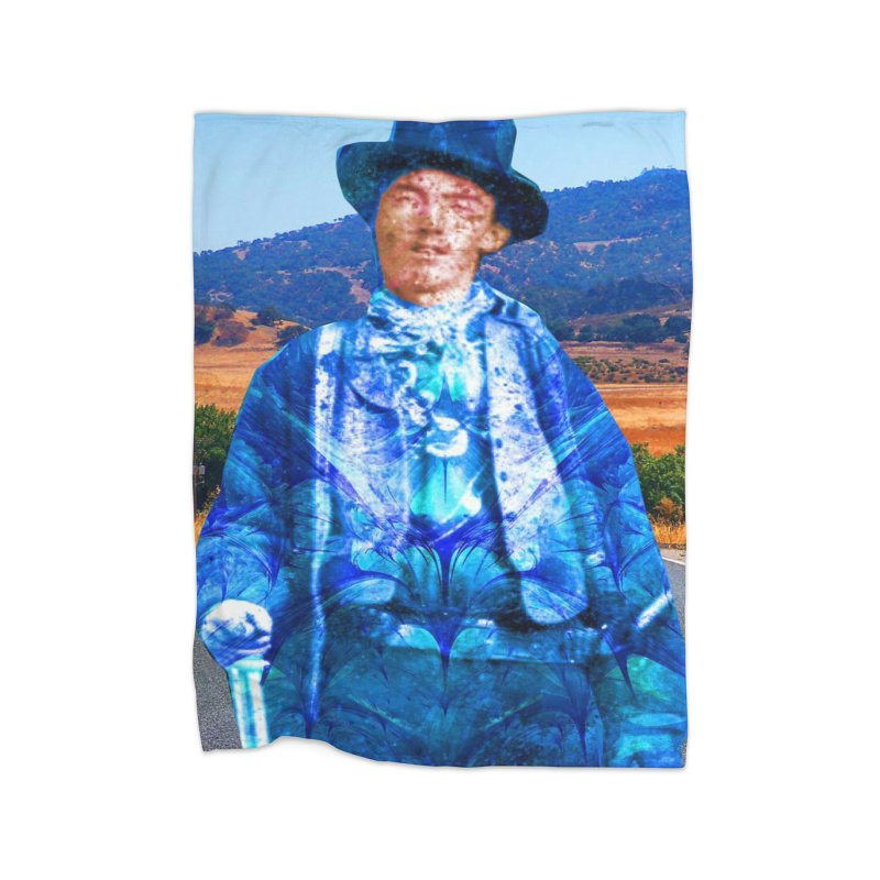 Billy the Kid Home Blanket by Matthew Lacey-icarusismartdesigns