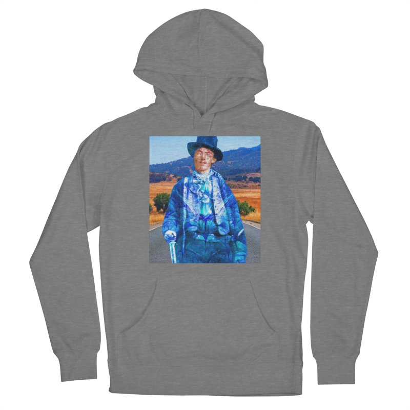 Billy the Kid Women's Pullover Hoody by Matthew Lacey-icarusismartdesigns
