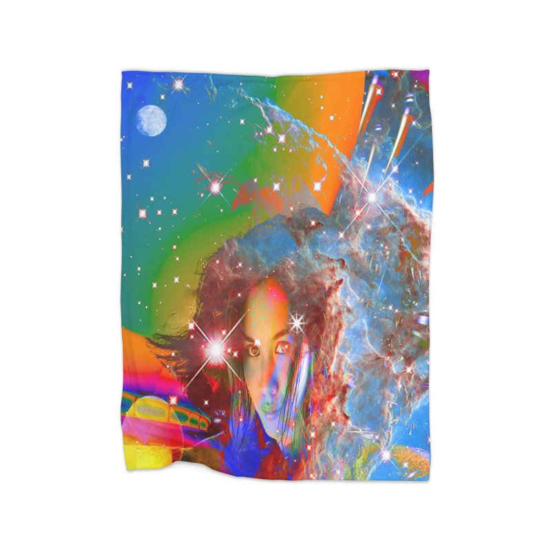 Cosmic Dream Home Blanket by Matthew Lacey-icarusismartdesigns