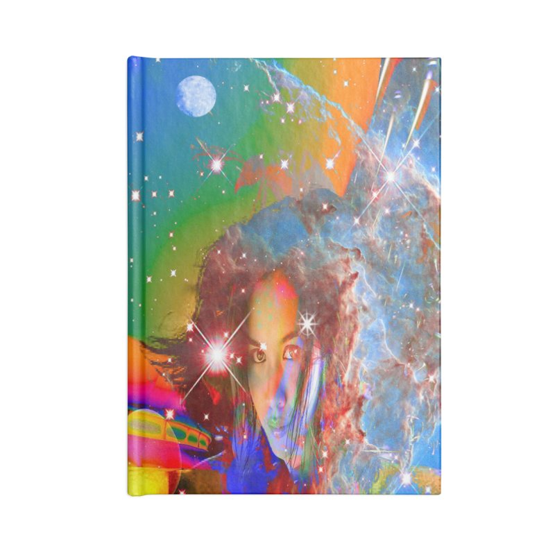Cosmic Dream Accessories Notebook by Matthew Lacey-icarusismartdesigns