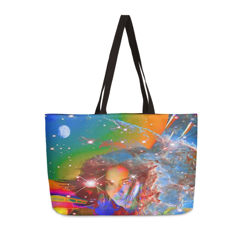 Cosmic Dream Accessories Bag by Matthew Lacey-icarusismartdesigns