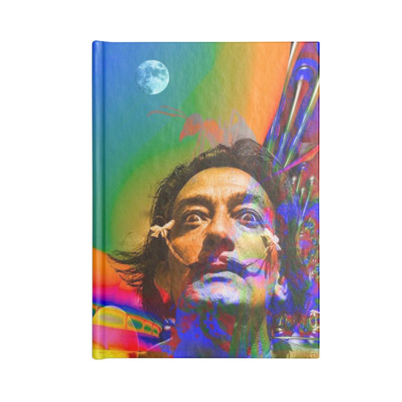 Dream of Salvador Dali Accessories Notebook by Matthew Lacey-icarusismartdesigns