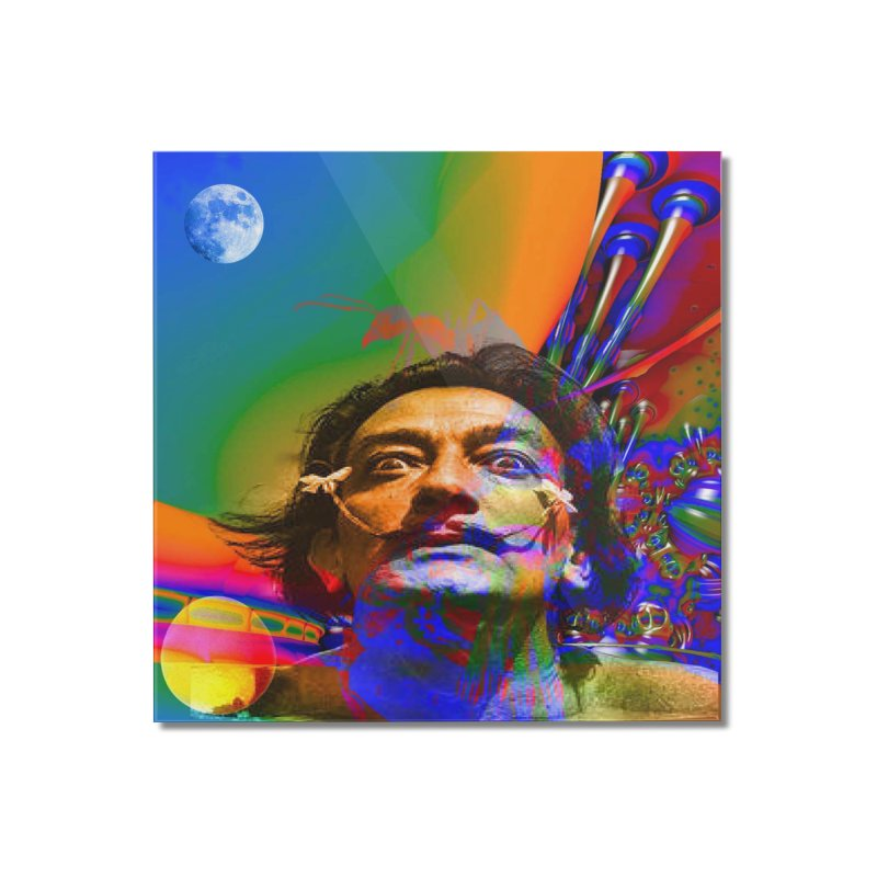 Dream of Salvador Dali Home Mounted Acrylic Print by Matthew Lacey-icarusismartdesigns