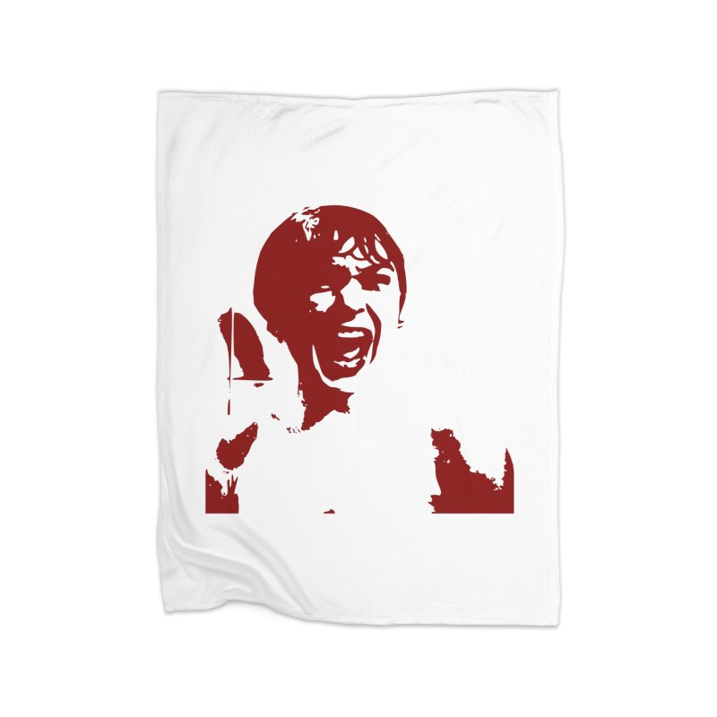 Psycho Home Blanket by Matthew Lacey-icarusismartdesigns
