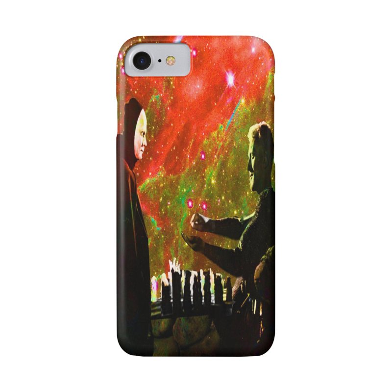 Playing chess with Death Accessories Phone Case by Matthew Lacey-icarusismartdesigns