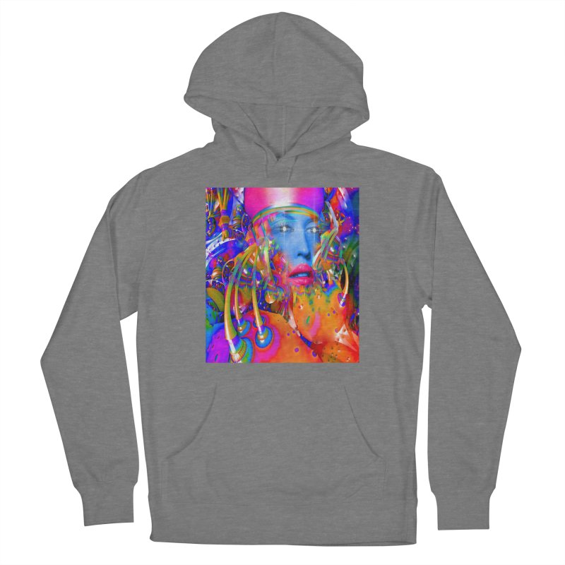 Organic Machine Women's Pullover Hoody by Matthew Lacey-icarusismartdesigns
