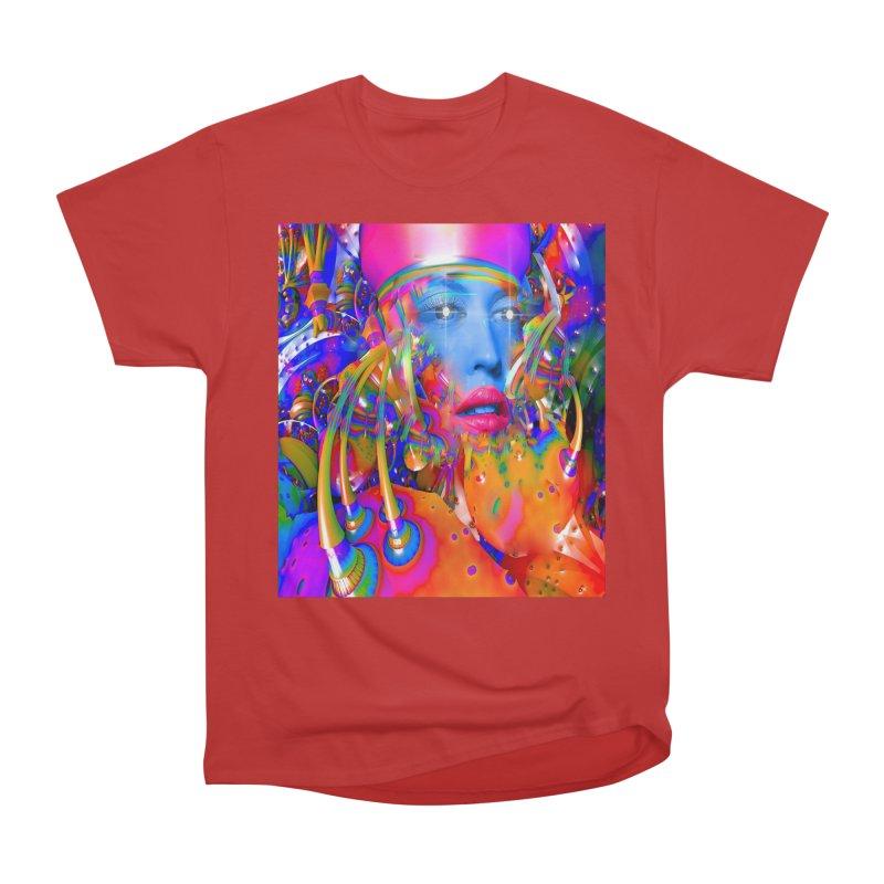 Organic Machine Men's Heavyweight T-Shirt by Matthew Lacey-icarusismartdesigns