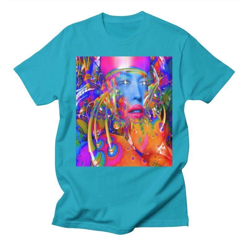 Organic Machine Women's Regular Unisex T-Shirt by Matthew Lacey-icarusismartdesigns
