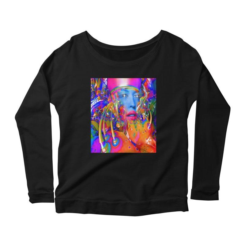 Organic Machine Women's Scoop Neck Longsleeve T-Shirt by Matthew Lacey-icarusismartdesigns