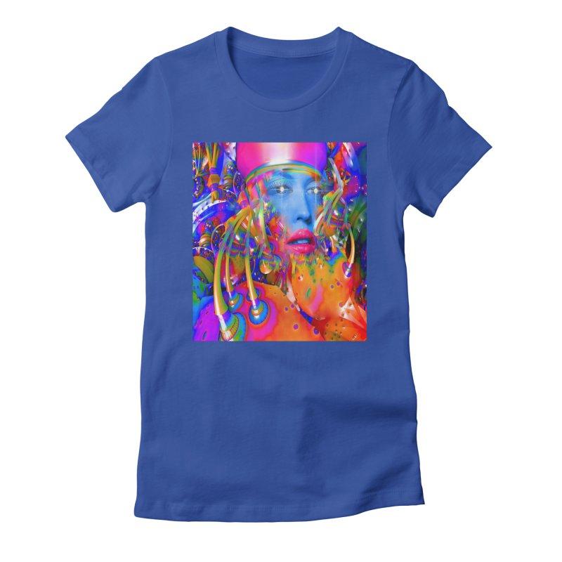 Organic Machine Women's T-Shirt by Matthew Lacey-icarusismartdesigns