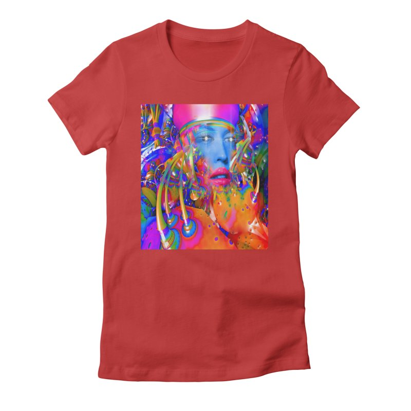 Organic Machine Women's T-Shirt by Matthew Lacey-icarusismartdesigns
