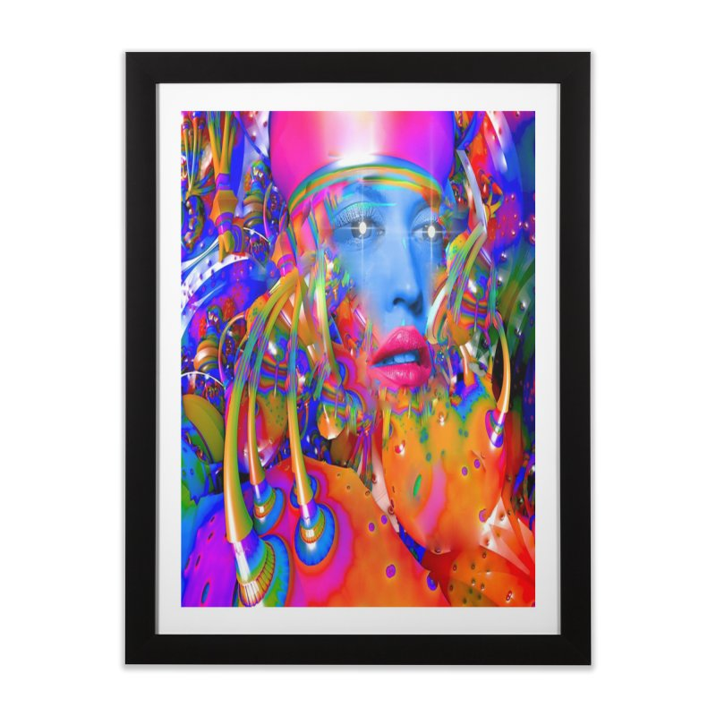 Organic Machine Home Framed Fine Art Print by Matthew Lacey-icarusismartdesigns