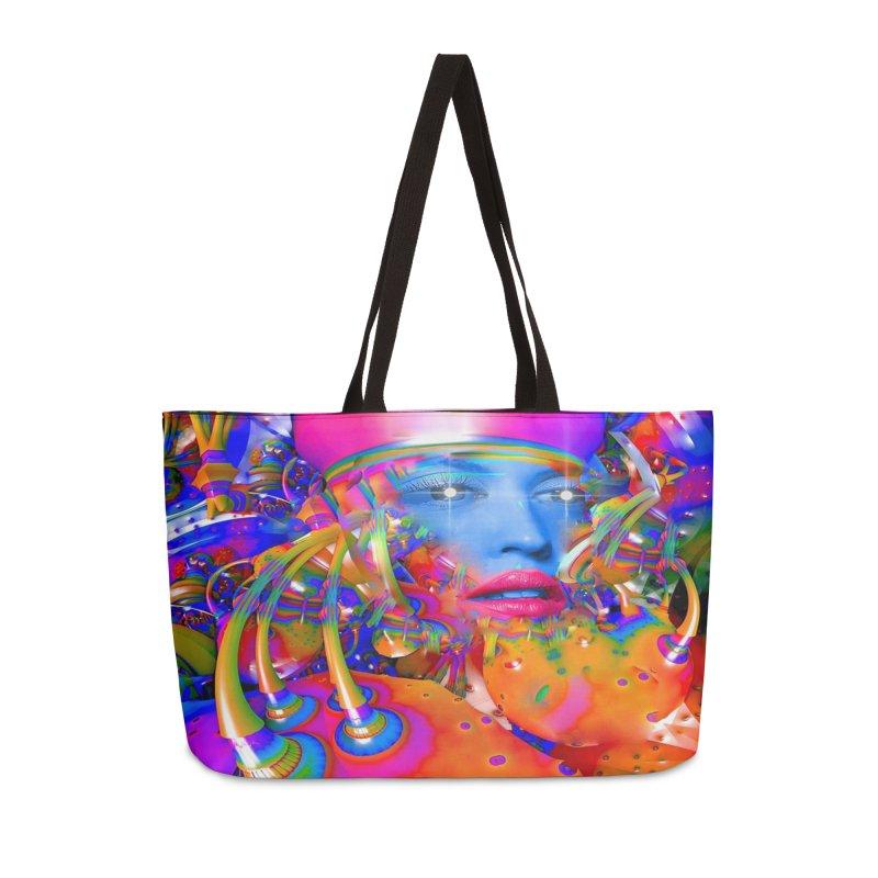 Organic Machine Accessories Weekender Bag Bag by Matthew Lacey-icarusismartdesigns