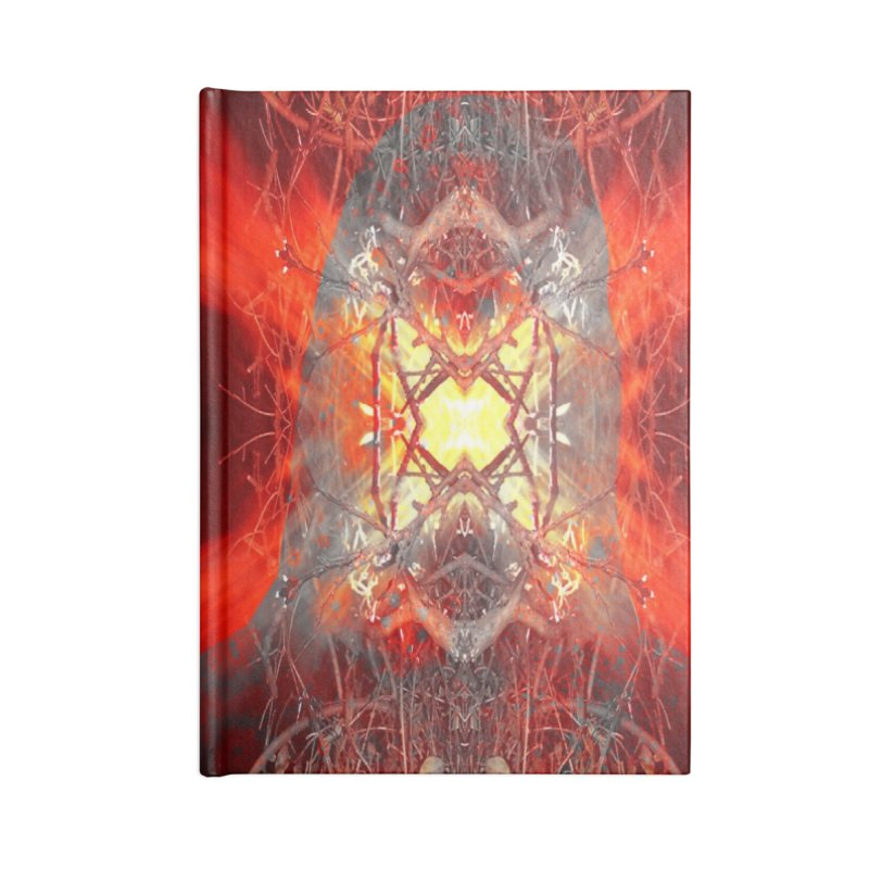 Spontaneous human combustion Accessories Notebook by Matthew Lacey-icarusismartdesigns
