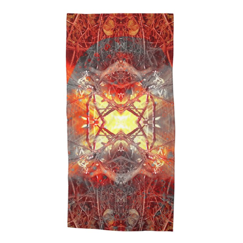 Spontaneous human combustion Accessories Beach Towel by Matthew Lacey-icarusismartdesigns