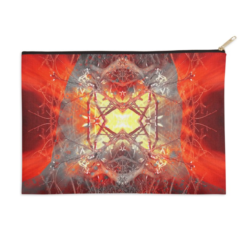 Spontaneous human combustion Accessories Zip Pouch by Matthew Lacey-icarusismartdesigns