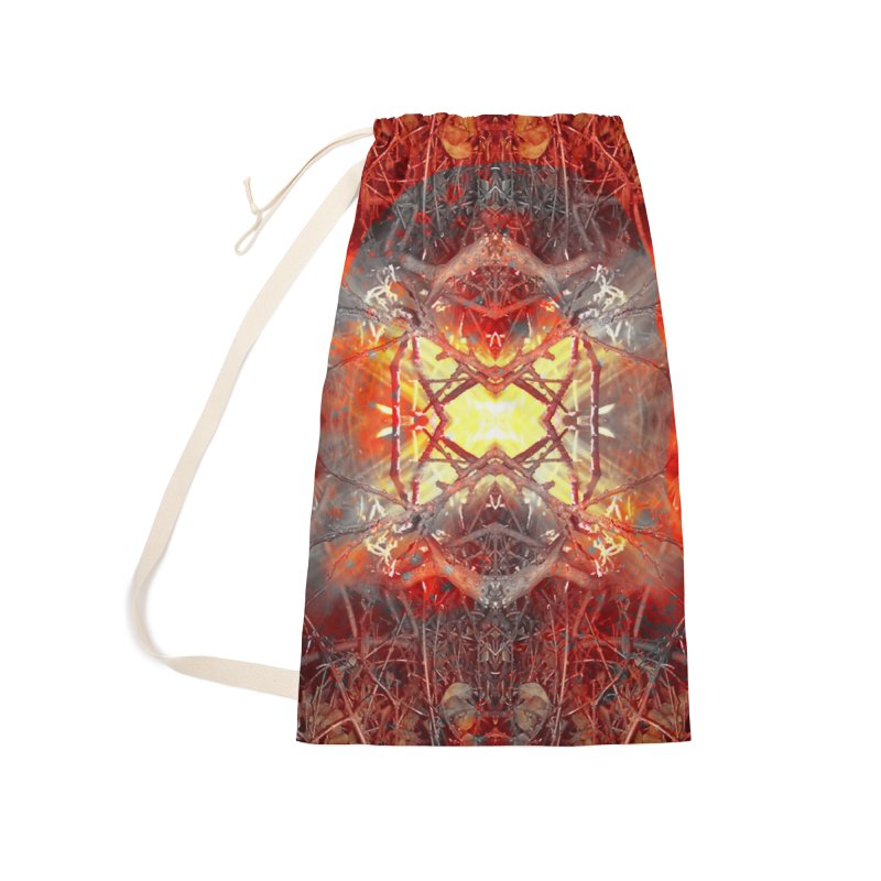 Spontaneous human combustion Accessories Laundry Bag Bag by Matthew Lacey-icarusismartdesigns