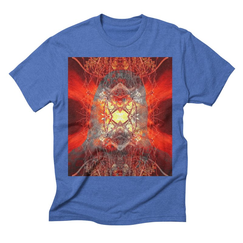 Spontaneous human combustion Men's T-Shirt by Matthew Lacey-icarusismartdesigns