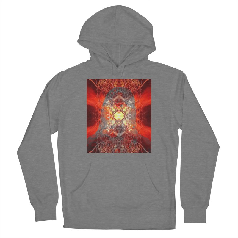 Spontaneous human combustion Women's Pullover Hoody by Matthew Lacey-icarusismartdesigns