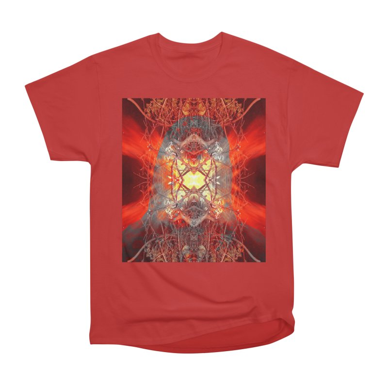 Spontaneous human combustion Men's Heavyweight T-Shirt by Matthew Lacey-icarusismartdesigns