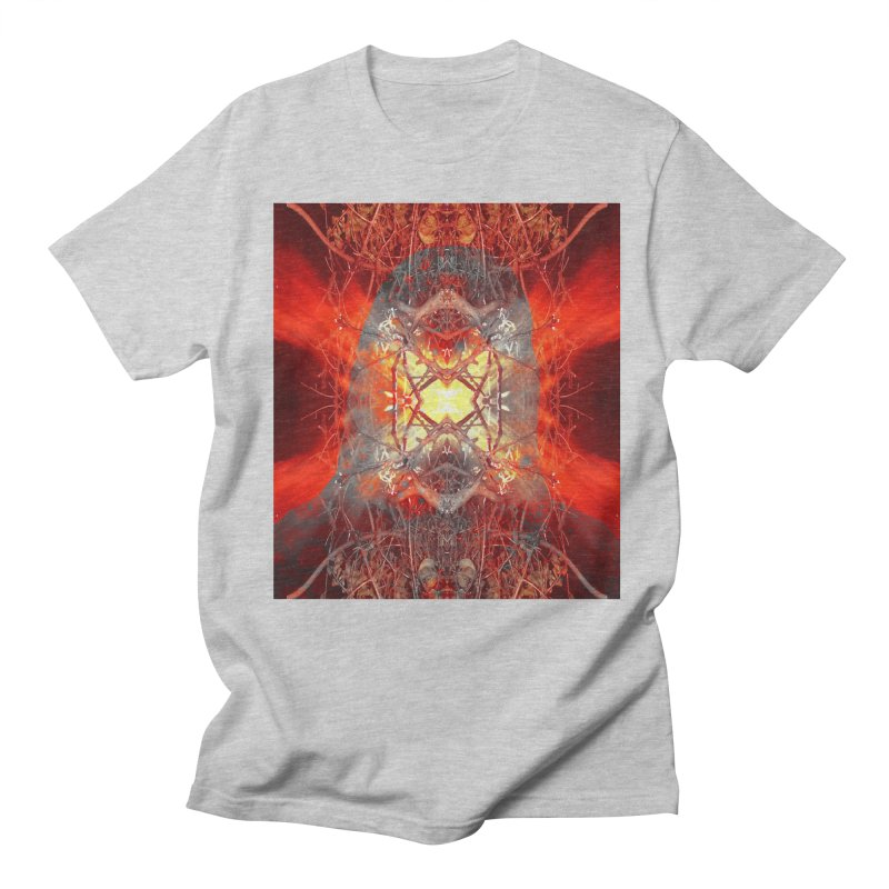 Spontaneous human combustion Women's Regular Unisex T-Shirt by Matthew Lacey-icarusismartdesigns