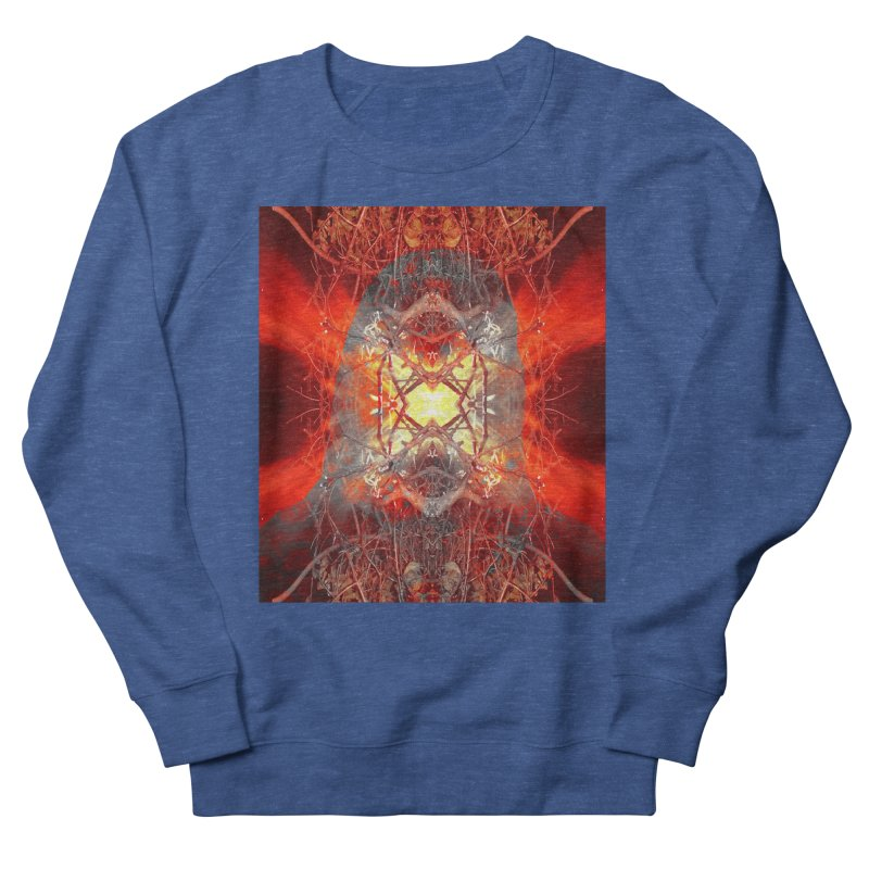 Spontaneous human combustion Women's French Terry Sweatshirt by Matthew Lacey-icarusismartdesigns
