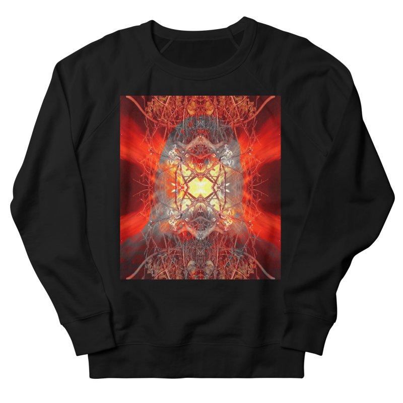 Spontaneous human combustion Women's Sweatshirt by Matthew Lacey-icarusismartdesigns