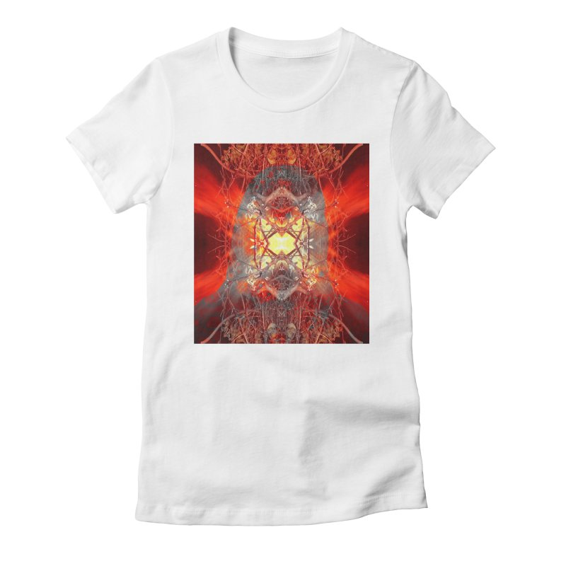Spontaneous human combustion Women's T-Shirt by Matthew Lacey-icarusismartdesigns