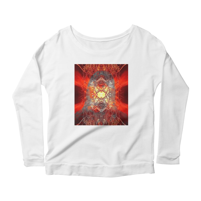 Spontaneous human combustion Women's Longsleeve T-Shirt by Matthew Lacey-icarusismartdesigns