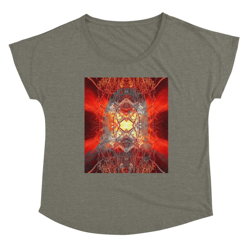 Spontaneous human combustion Women's Scoop Neck by Matthew Lacey-icarusismartdesigns