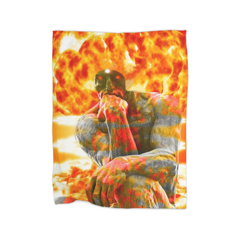 Brainstorm Home Blanket by Matthew Lacey-icarusismartdesigns