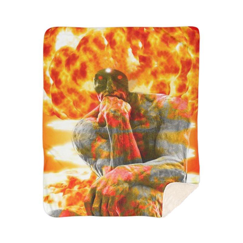 Brainstorm Home Blanket by Matthew Lacey-icarusismartdesigns